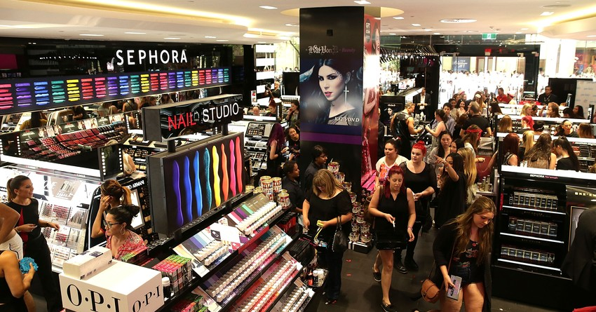 Cosmetics industry is going to grow 14 9 billion U S dollars